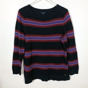 Tommy Hilfiger Textured Striped Sweater